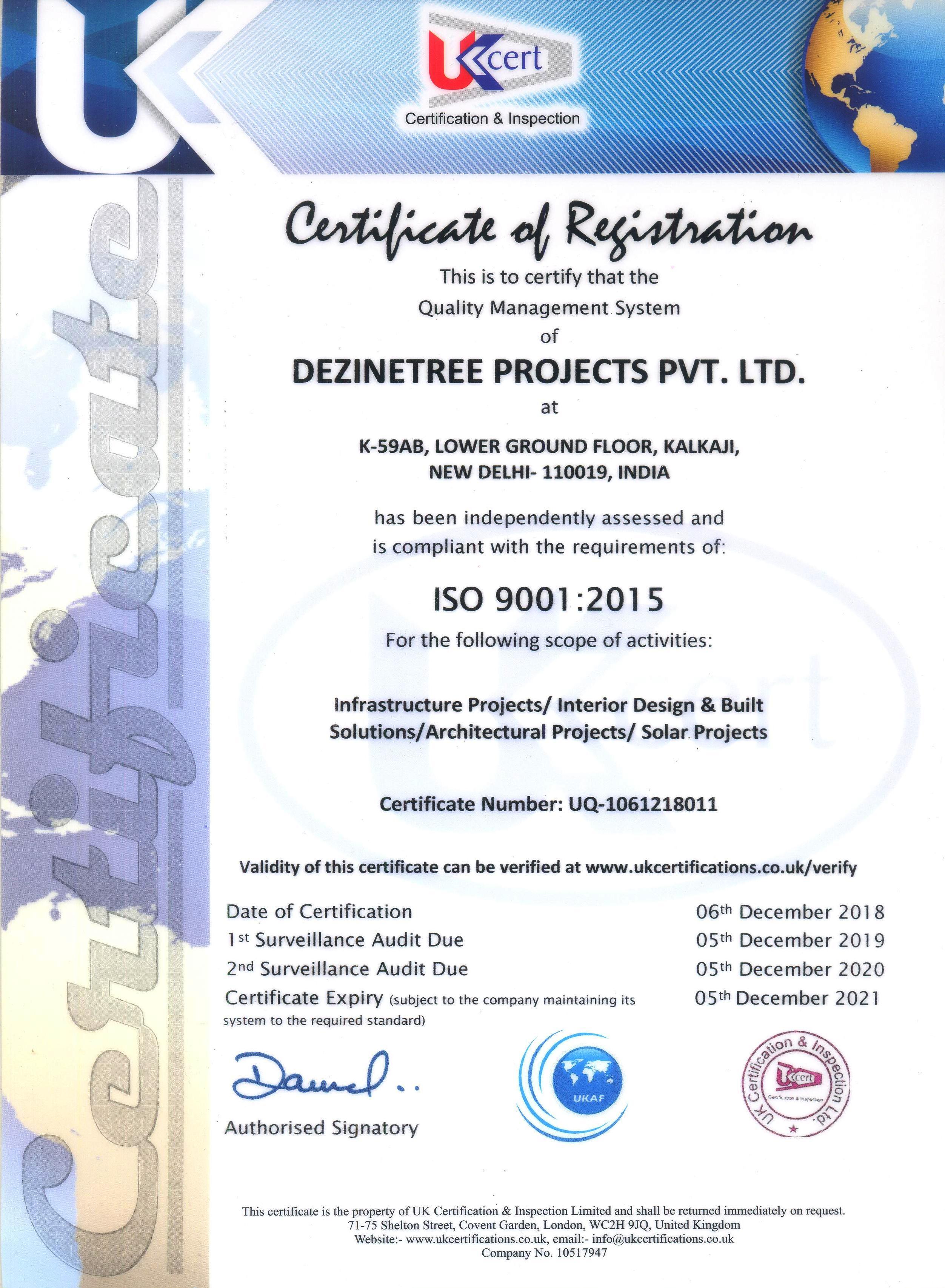 Dezinetree Project Pvt  Ltd